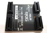 NVIDIA ASUS ROG SLI Bridge 2S HB Rev.1.00 NEU