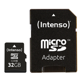 32GB SDHC Micro Card Intenso inkl. Adapter