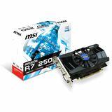PCI-E 2048MB MSI R7 250 OC aktiv DDR3 1800MHz DVI HDMI VGA Ausstellungsstück