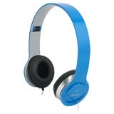 Headset LogiLink Stereo Headset blau Ausstellungsstück