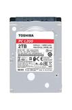 Festplatte SATA 6,4cm (2,5) 2 TB Toshiba PC L200 5400rpm