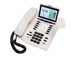 AGFEO Systemtelefon ST45 IP reinweiß 10 Funktionstasten