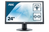 Monitor 60cm (24) AOC E2460PDA FullHD DVI VGA Lautsprecher