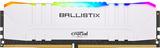 DDR4  16GB PC3200 Crucial Ballistix Gaming Weiß (2x8GB) RGB