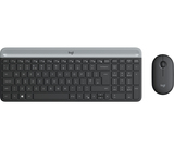 Tastatur+Mouse Logitech Cordless MK470 qwertz black USB