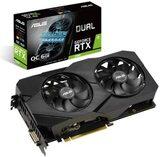 PCIe Grafikkarte 6GB ASUS DUAL RTX2060 6G EVO GDDR6 DP DVI