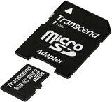 8GB SDHC Micro Card Trancend mit Adapter