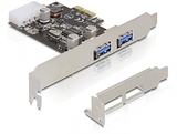 USB HUB 2 Port intern PCI-E USB 3.0 DeLock(NEC) inkl.LP