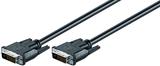 Kabel DVI Dual Link 24+1ST > 24+1St 2m