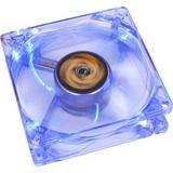 Gehäusekühler 12x12 Revoltec Kühler blau leuchtend 4 LEDs