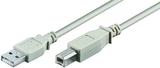 Kabel USB m/m, Typ A/B  1,8m     USB 2.0