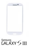 Samsung Galaxy S3 i9300 i9305 Front Glas Display weiß